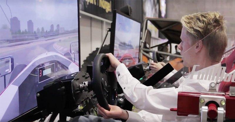 Vil du bli landets beste SimRacer? - Norsk bilsport